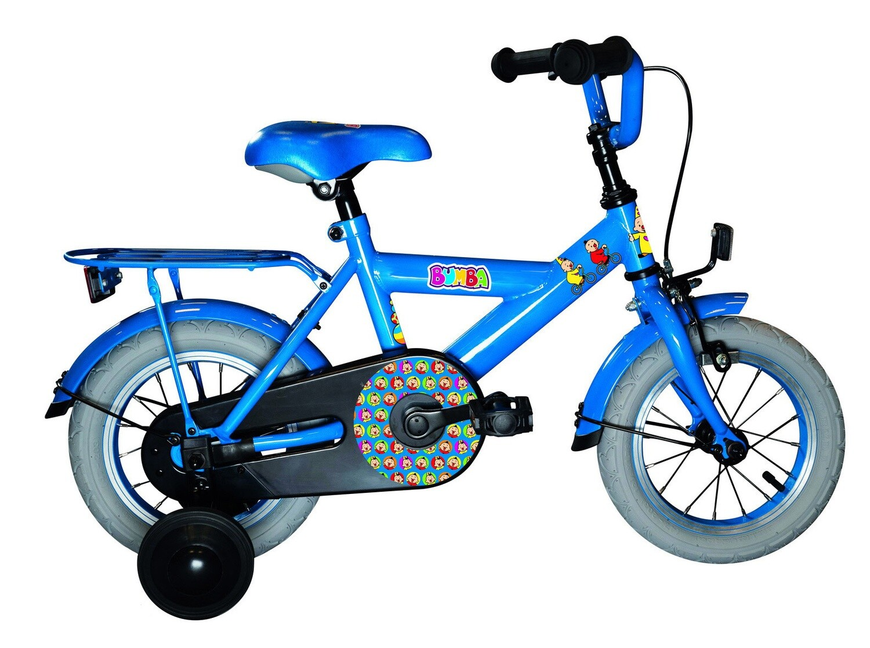 Kinder-Fahrrad Velo Studio 100 Studio 100 Bumba 12 Zoll 21,5 cm Jungen Rücktrittbremse Blau