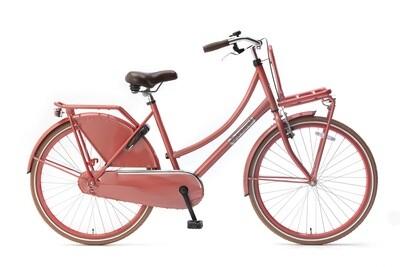 Kinder-Fahrrad Velo Hollandrad Popal Daily Dutch Basic 26 Zoll 46 cm Mädchen Rücktrittbremse Rot