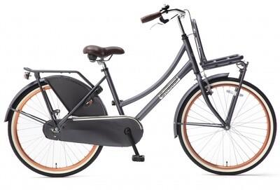Kinder-Fahrrad Velo Hollandrad Popal Daily Dutch Basic 24 Zoll 42 cm Mädchen Rücktrittbremse Petrolblau