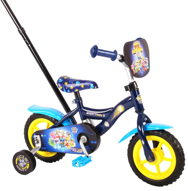 Kinder-Fahrrad Velo Volare Paw Patrol 10 Zoll 18 cm Jungen Blau