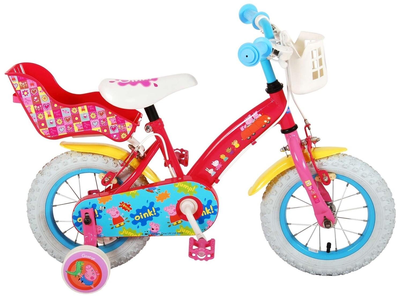 Kinder-Fahrrad Velo Peppa Pig Peppa Pig 12 Zoll 21,5 cm Mädchen Felgenbremse Rosa