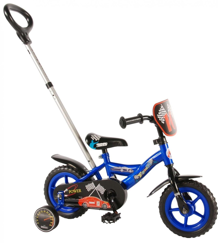 Kinder-Fahrrad Velo Yipeeh Power 10 Zoll 18 cm Jungen blau
