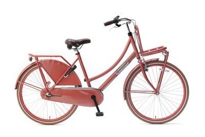 Kinder-Fahrrad Velo Hollandrad Popal Daily Dutch Basic+ 26 Zoll 46 cm Mädchen 3G Rücktrittbremse Rot