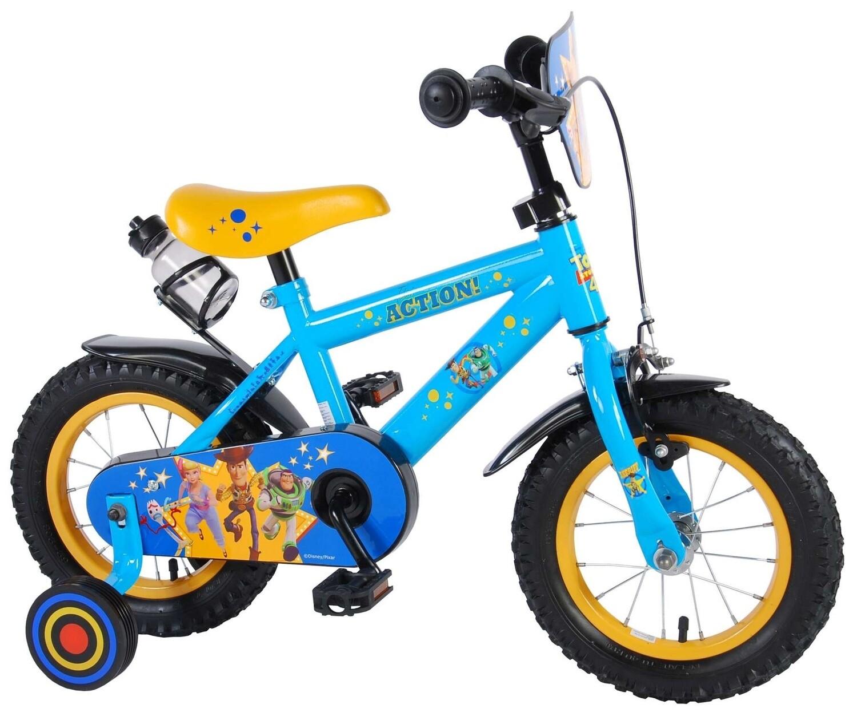 Kinder-Fahrrad Velo Volare Disney Toy Story 12 Zoll 21,5 cm Jungen Rücktrittbremse Blau