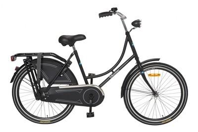 Kinder-Fahrrad Velo Hollandrad Cycle Tech Wheelerz 24 Zoll Mädchen Rücktrittbremse Schwarz