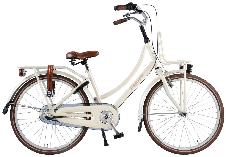 Kinder-Fahrrad Velo Volare Excellent 24 Zoll Mädchen 3G Rücktrittbremse Perlmutt