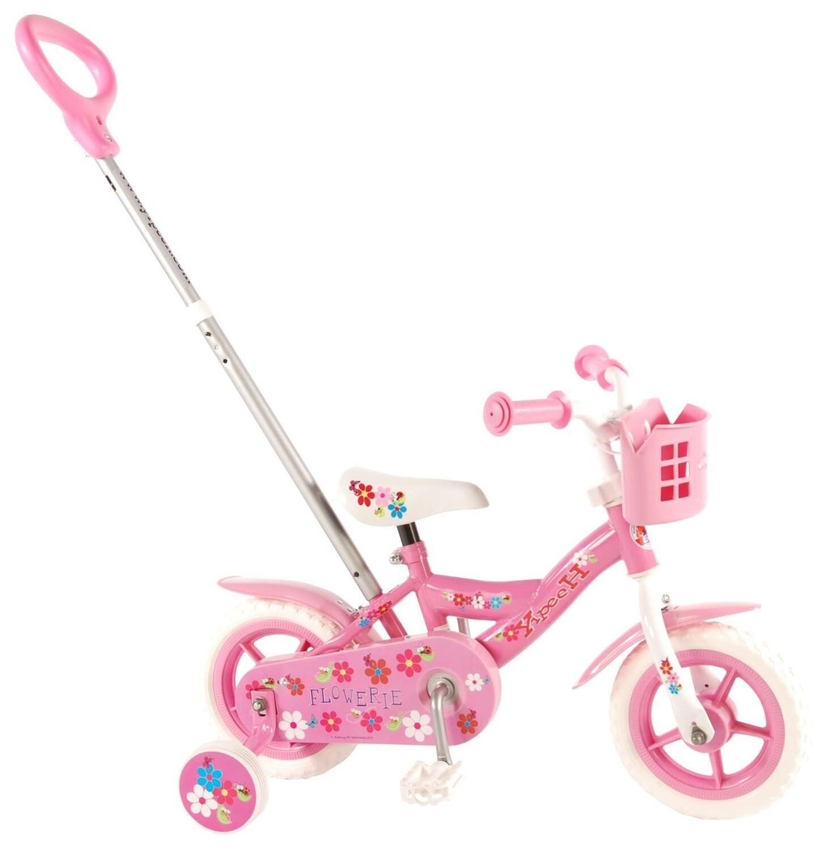 Kinder-Fahrrad Velo Yipeeh Flowerie 10 Zoll 18 cm Mädchen Rosa