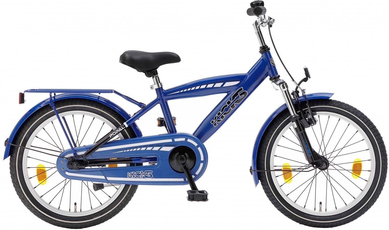 Kinder-Fahrrad Velo Popal Kicks 18 Zoll Jungen Rücktrittbremse Blau