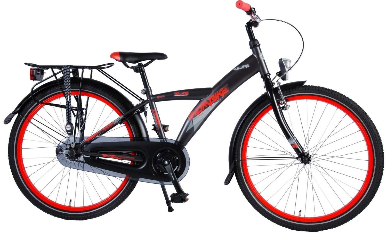 Kinder-Fahrrad Velo Volare Thombike 24 Zoll Jungen Rücktrittbremse Grau/Rot