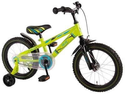 Kinder-Fahrrad Velo Volare Electric Green 16 Zoll 25,4 cm Jungen Rücktrittbremse Grün