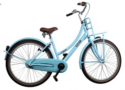 Kinder-Fahrrad Velo Bike Fun Cargo Load 24 Zoll 39 cm Mädchen 3G Rücktrittbremse Blau