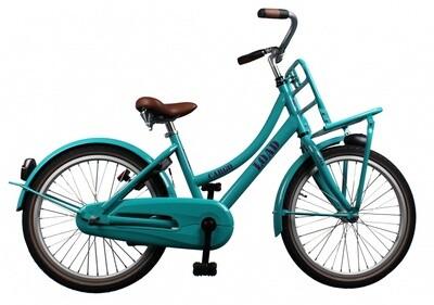 Kinder-Fahrrad Velo Bike Fun Cargo Load 20 Zoll 33 cm Mädchen Rücktrittbremse Grün