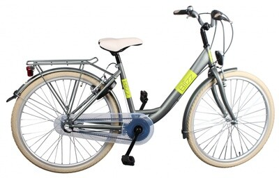 Kinder-Fahrrad Velo Bike Fun Blizz 20 Zoll 33 cm Mädchen Felgenbremse Mattgrün