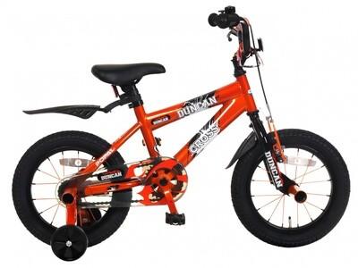 Kinder-Fahrrad Velo Popal Duncan 12 Zoll Jungen Rücktrittbremse Orange