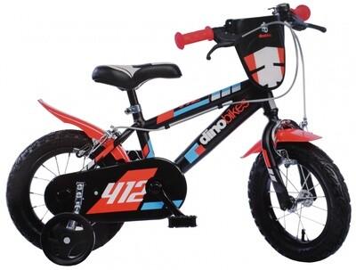 Kinder-Fahrrad Velo Dino Sfera 12 Zoll 21 cm Jungen Felgenbremse Schwarz