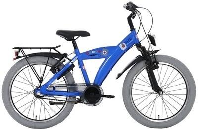 Kinder-Fahrrad Velo Bike Fun Sound 20 Zoll 33 cm Jungen 3G Rücktrittbremse Blau