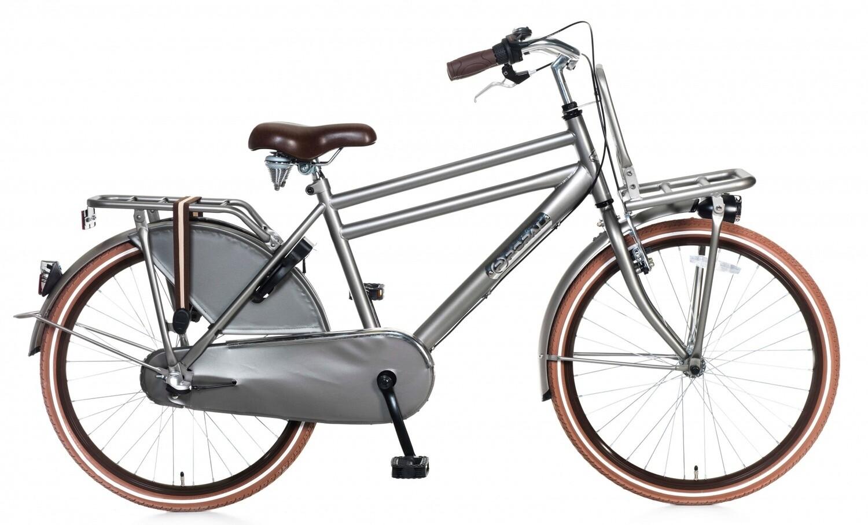 Kinder-Fahrrad Velo Hollandrad Popal Daily Dutch Basic+ 24 Zoll Jungen 3G Rücktrittbremse Titan