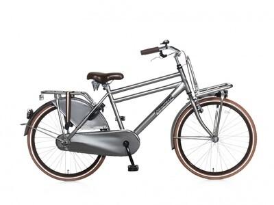 Kinder-Fahrrad Velo Hollandrad Popal Daily Dutch Basic 24 Zoll Jungen Rücktrittbremse Titan