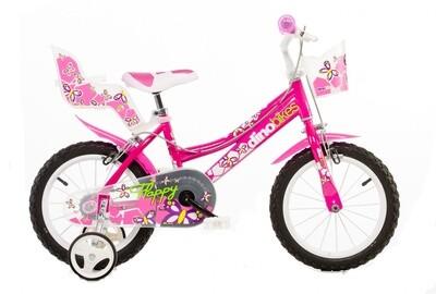 Kinder-Fahrrad Velo Popal Black Fighter 12 Zoll Jungen Rücktrittbremse Creme