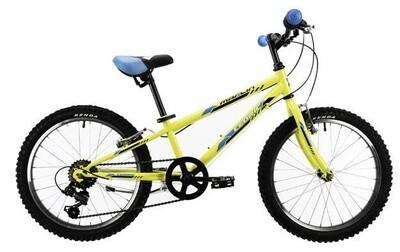 Kinder-Fahrrad Velo Mountainbike Marlin Cedric 20 Zoll 24 cm Jungen 6G Felgenbremse Gelb