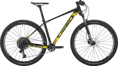Fahrrad Velo Mountainbike Deed Vector 292 29 Zoll Herren 12G Hydraulisch Scheibenbremse Schwarz/Gelb