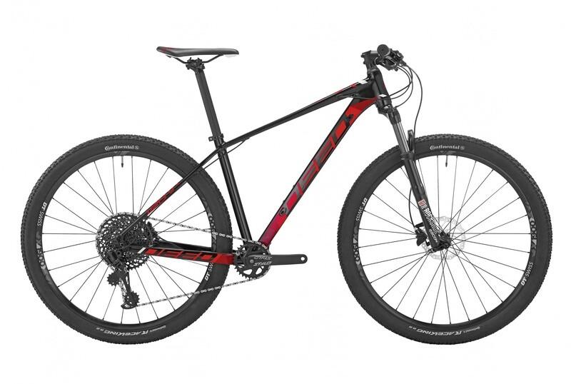 Fahrrad Velo Mountainbike Deed Vector 291 29 Zoll Herren 12G Hydraulisch Scheibenbremse Schwarz/Rot
