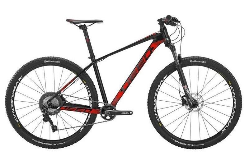 Fahrrad Velo Mountainbike Deed Vector 294 29 Zoll Herren 11G Hydraulisch Scheibenbremse Schwarz/Rot