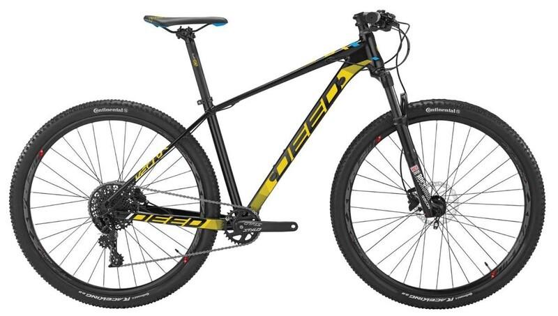 Fahrrad Velo Mountainbike Deed Vector 294 29 Zoll Herren 11G Hydraulisch Scheibenbremse Schwarz/Gelb