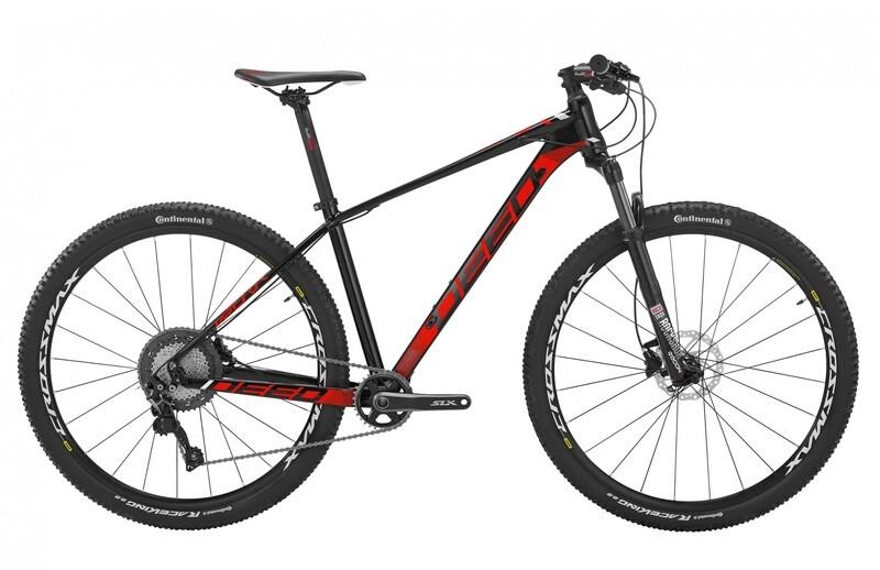 Fahrrad Velo Mountainbike Deed Vector 293 29 Zoll Herren 11G Hydraulisch Scheibenbremse Schwarz/Rot