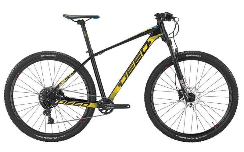 Fahrrad Velo Mountainbike Deed Vector 293 29 Zoll Herren 11G Hydraulisch Scheibenbremse Schwarz/Gelb