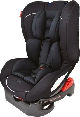 Kindersitz Carkids Autositzgruppe 1 schwarz / weiss