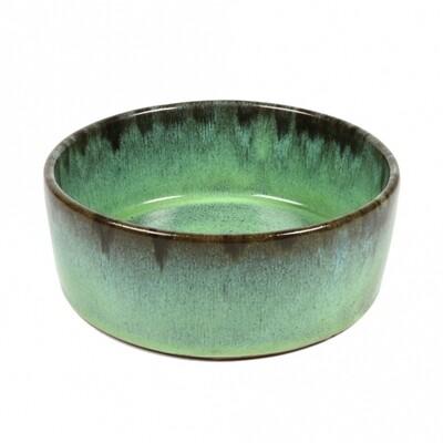 Outlet: D&D Trendy Napf Jasper grün / Durchmesser 20 cm
