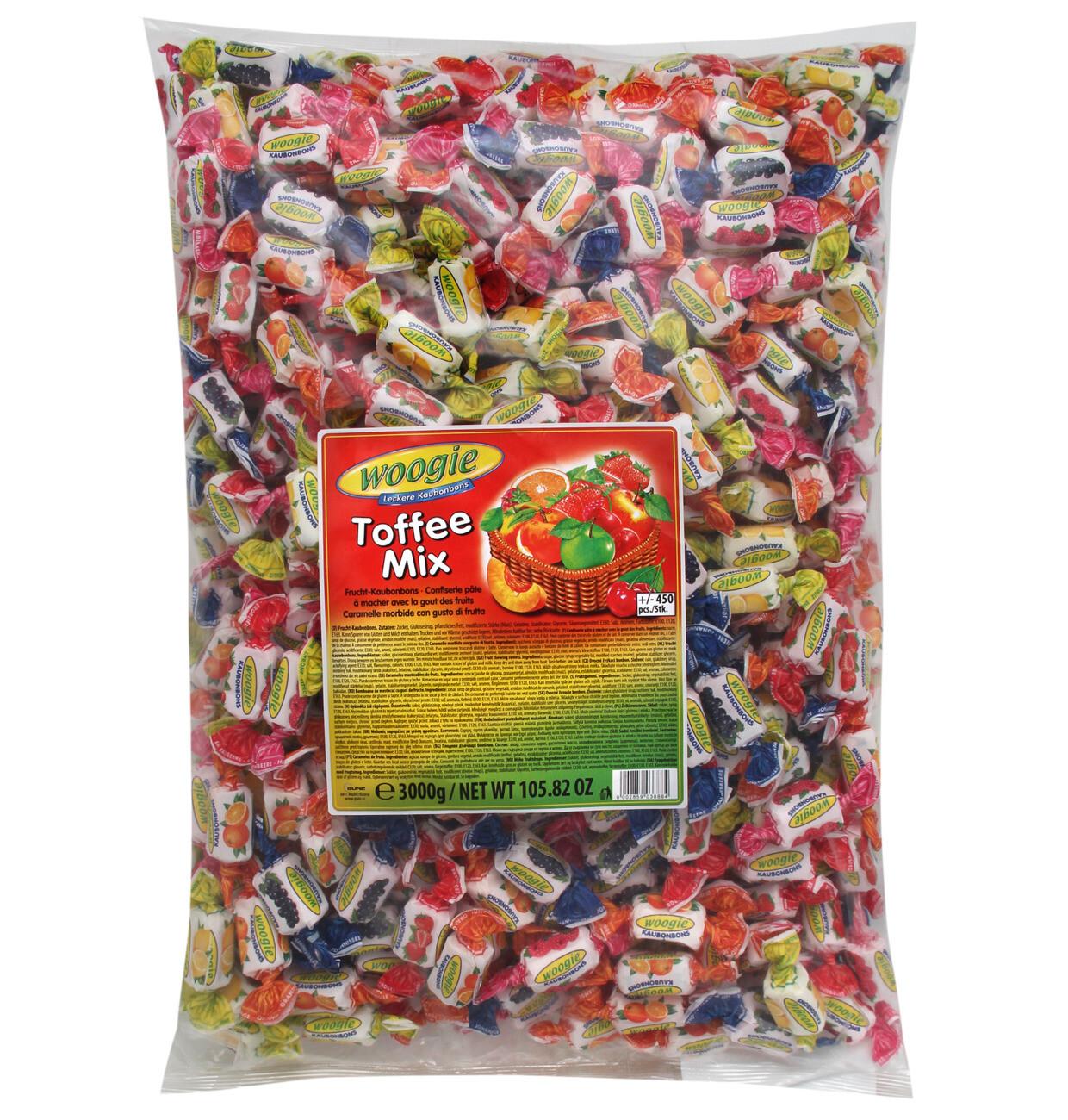 Outlet: Woogie Bonbons Toffee Mix 3kg