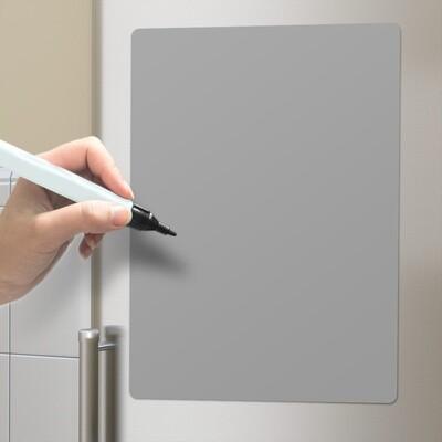 Balvi Magnetische Notiztafel / Memoboard 42 x 30 cm Polypropylen grau