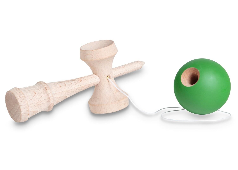 BS Toys Holzspiel Kendama 18 cm grün