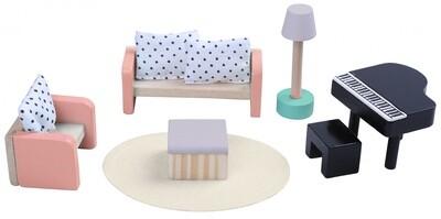 Gerardo's Toys Puppenhausmöbel aus Holz