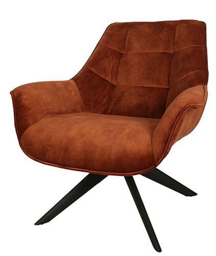 Decostar Stuhl Jacksonville 89 x 84 cm Textil orange