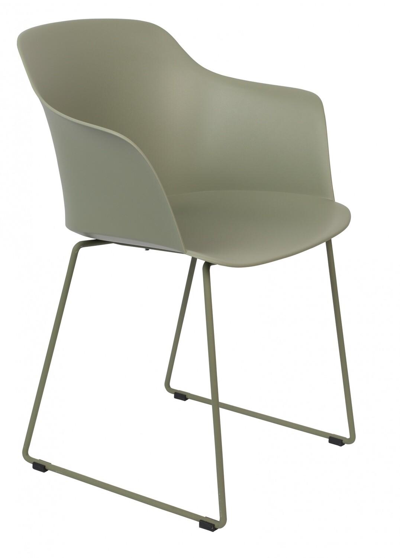 TOM Stuhl Tango 58 x 54 x 81,5 cm Stahl / Polypropylen grün