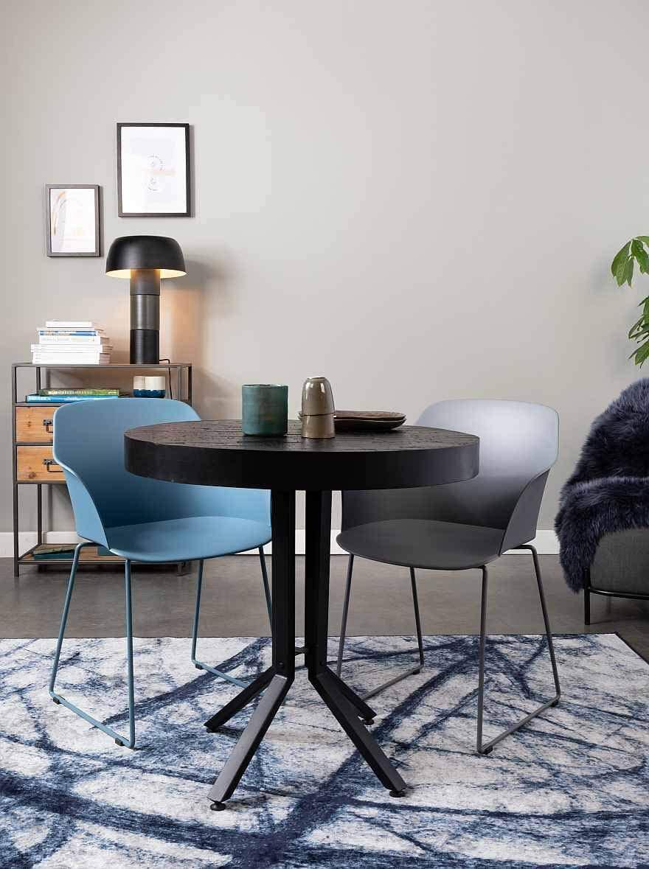TOM Stuhl Tango 58 x 54 x 81,5 cm Stahl / Polypropylen blau