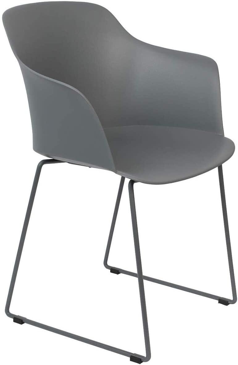 TOM Stuhl Tango 58 x 54 x 81,5 cm Stahl / Polypropylen grau