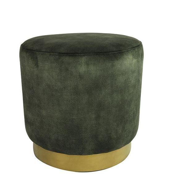 Decostar decostar ro Millville Hocker 42,5 x 42,5 x 42,5 cm Armeegrün