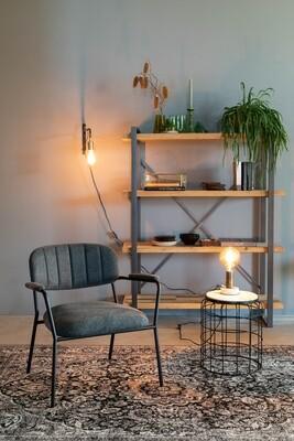 TOM Sessel Kolten 73 x 70 cm Polyester / Stahl schwarz