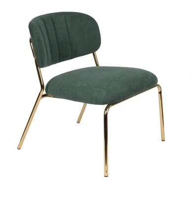 TOM Sessel Jolien 68 x 60 cm Polyester / Stahl grün