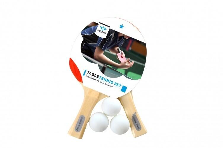 Angel Sports Tischtennis-Set Mit Kugeln