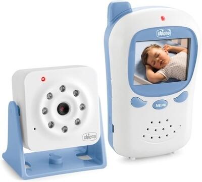 Chicco Babyphone Smart Deluxe 260 weiß / blau zweiteilig