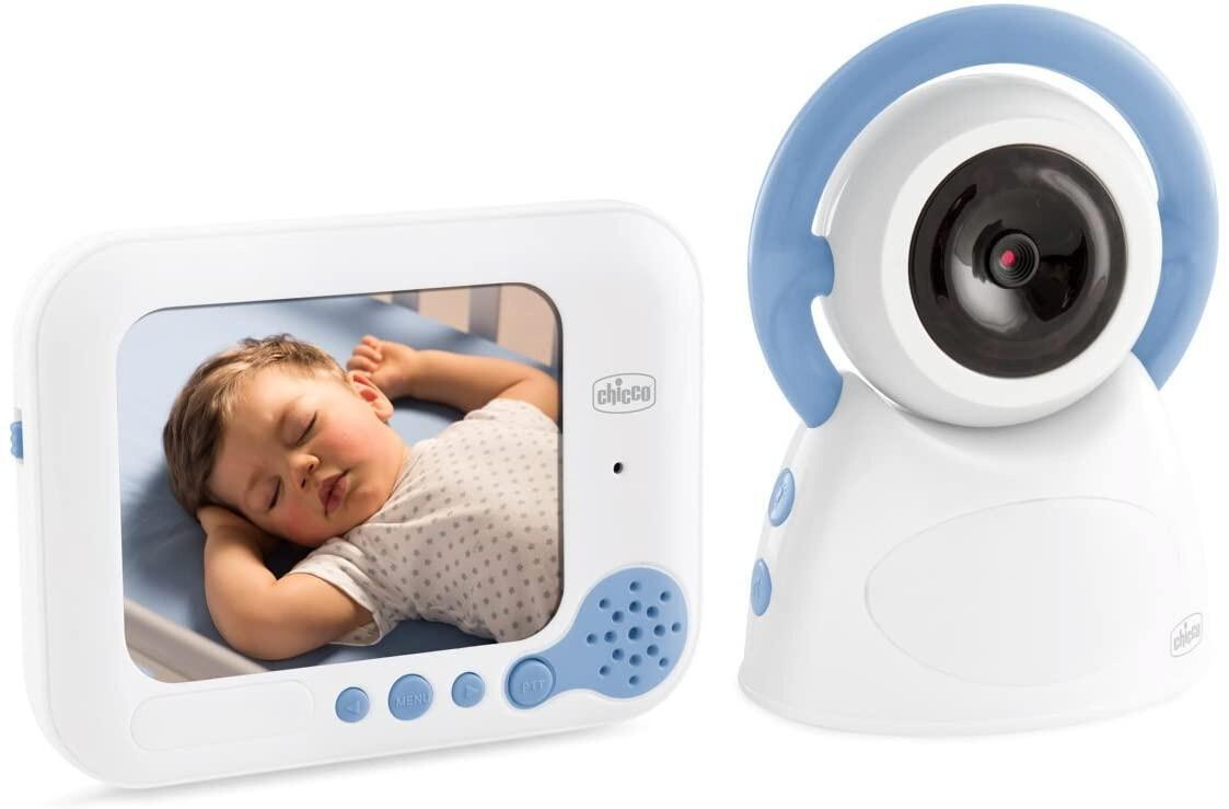 Chicco Babyphone Video Deluxe 254 weiss / blau zweiteilig