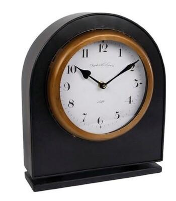 Van Manen Uhr Bastiaan 34 cm Stahl schwarz / gold