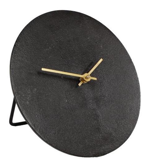 Van Manen Uhr Moon 20 x 5 cm Aluminium schwarz