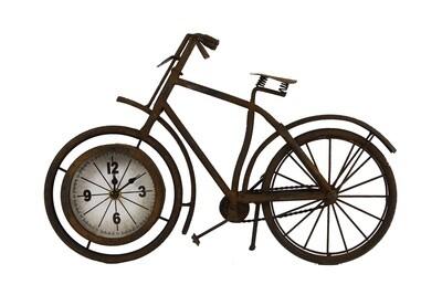 Van Manen Uhr Fahrrad Velo 38,5 x 7,5 x 25 cm Stahlbronze