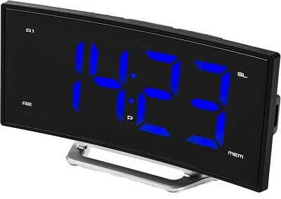 Smartwares Radiowecker CL-1658 USB 17 cm schwarz